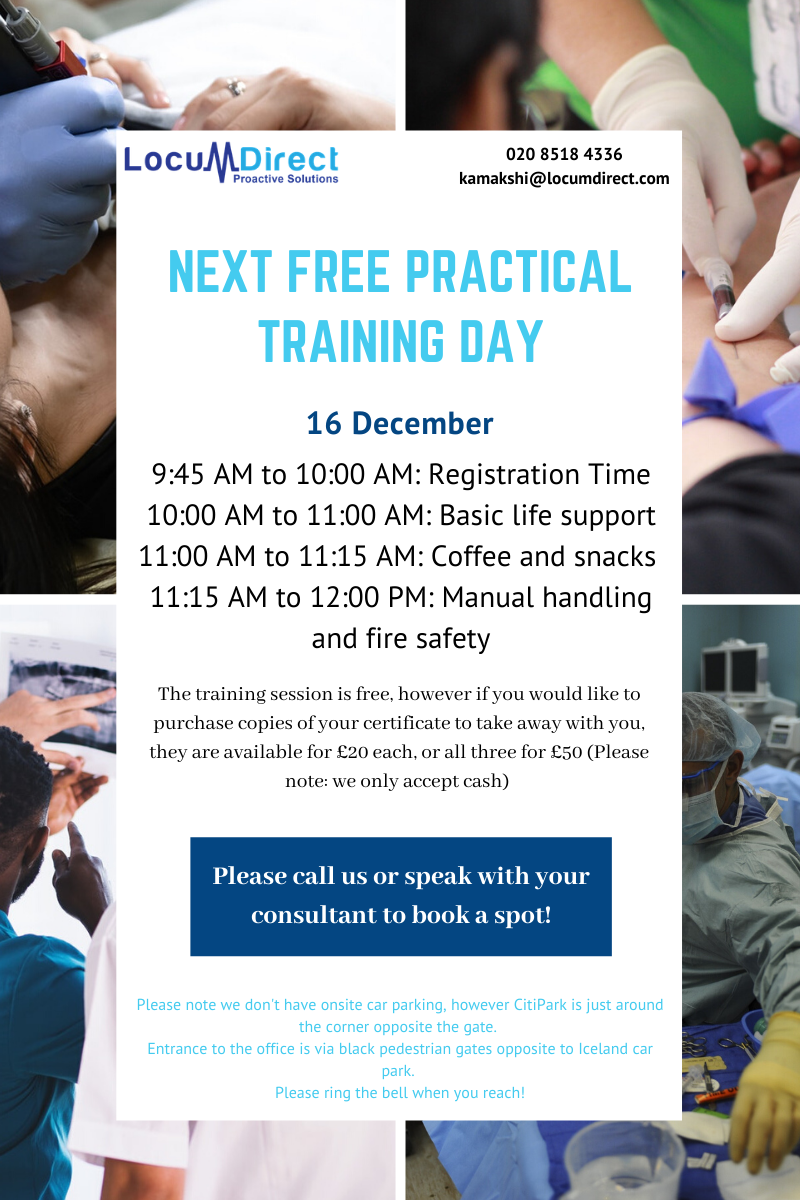 Free practical training day